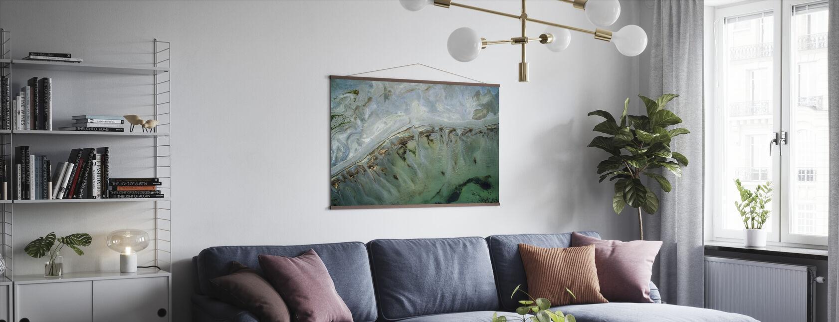 Great Salt Lake - Poster - Living Room
