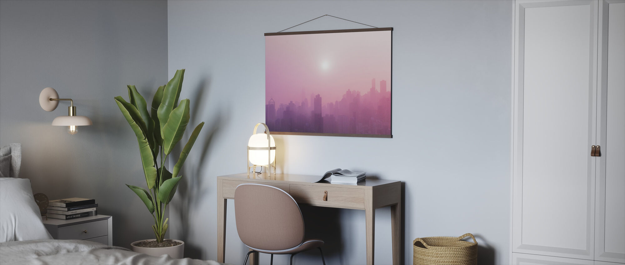 Pink Sky - Poster - Office