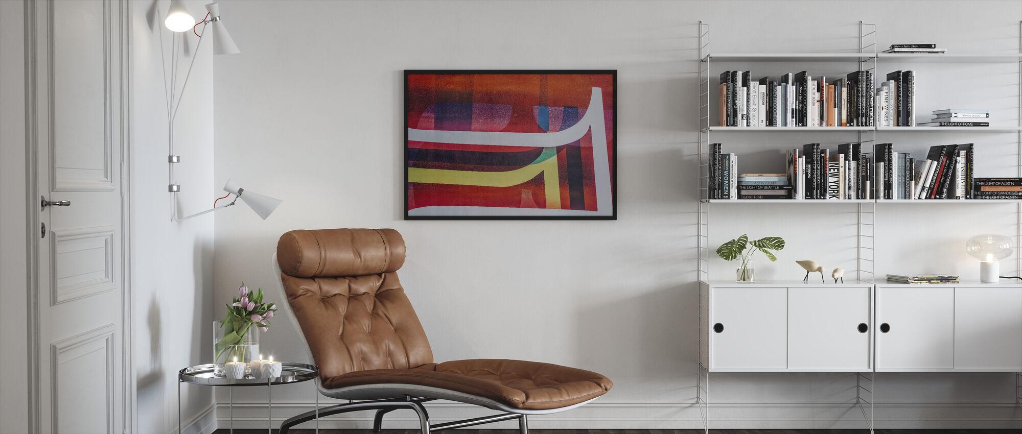 Visuaalinen taide - Kehystetty kuva - Olohuone