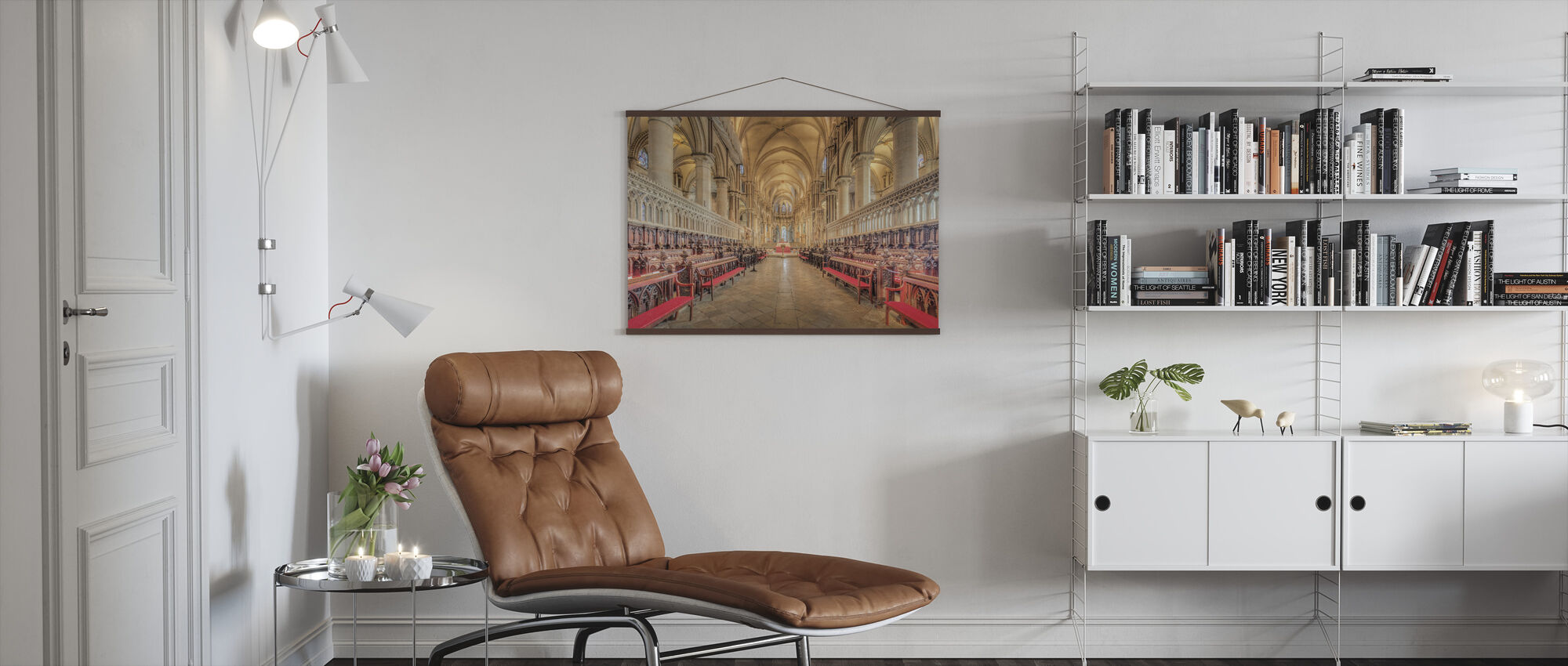 Canterbury Cathedral - Poster - Living Room