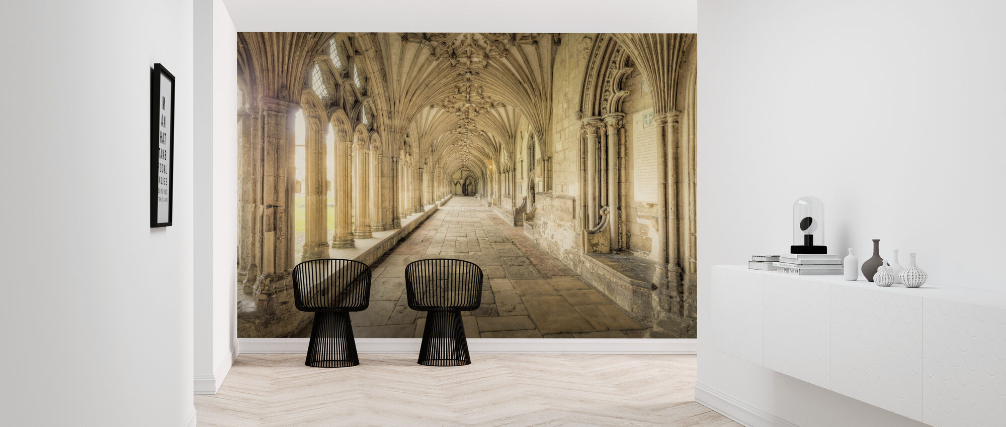 Canterbury Cathedral - Wallpaper - Hallway