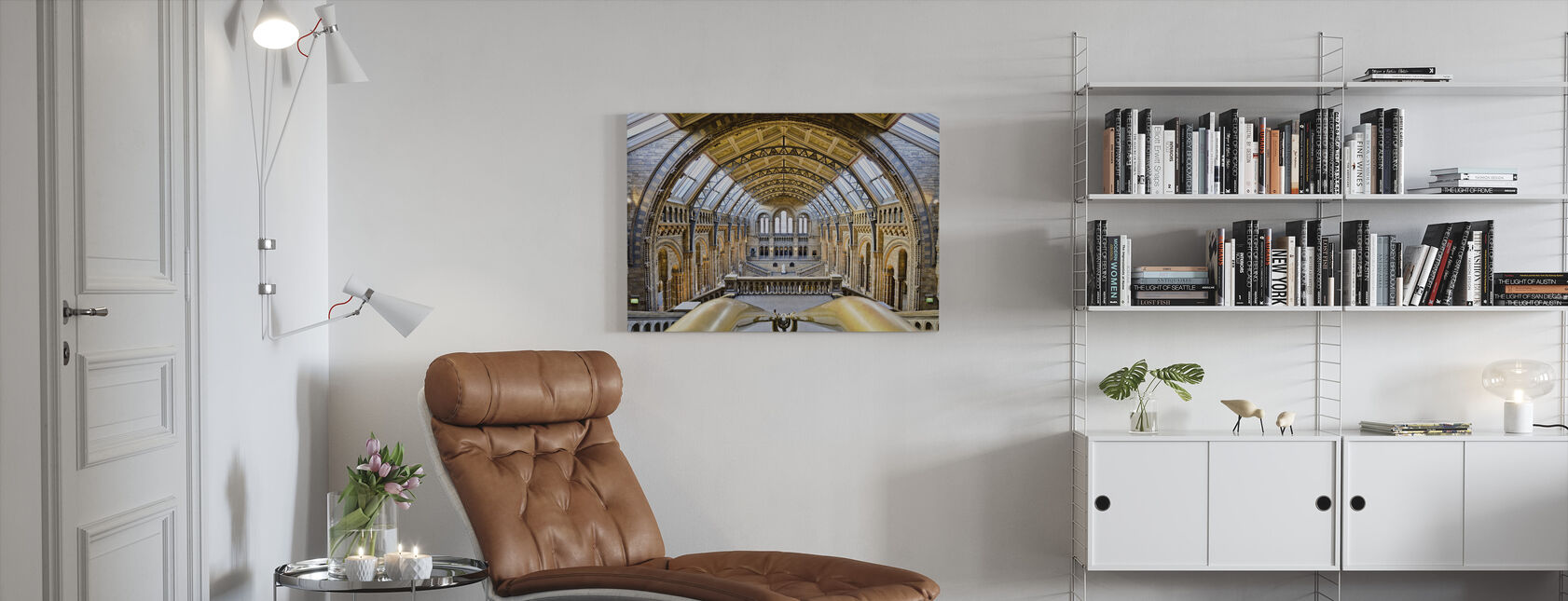 Natural History Museum - Canvas print - Living Room
