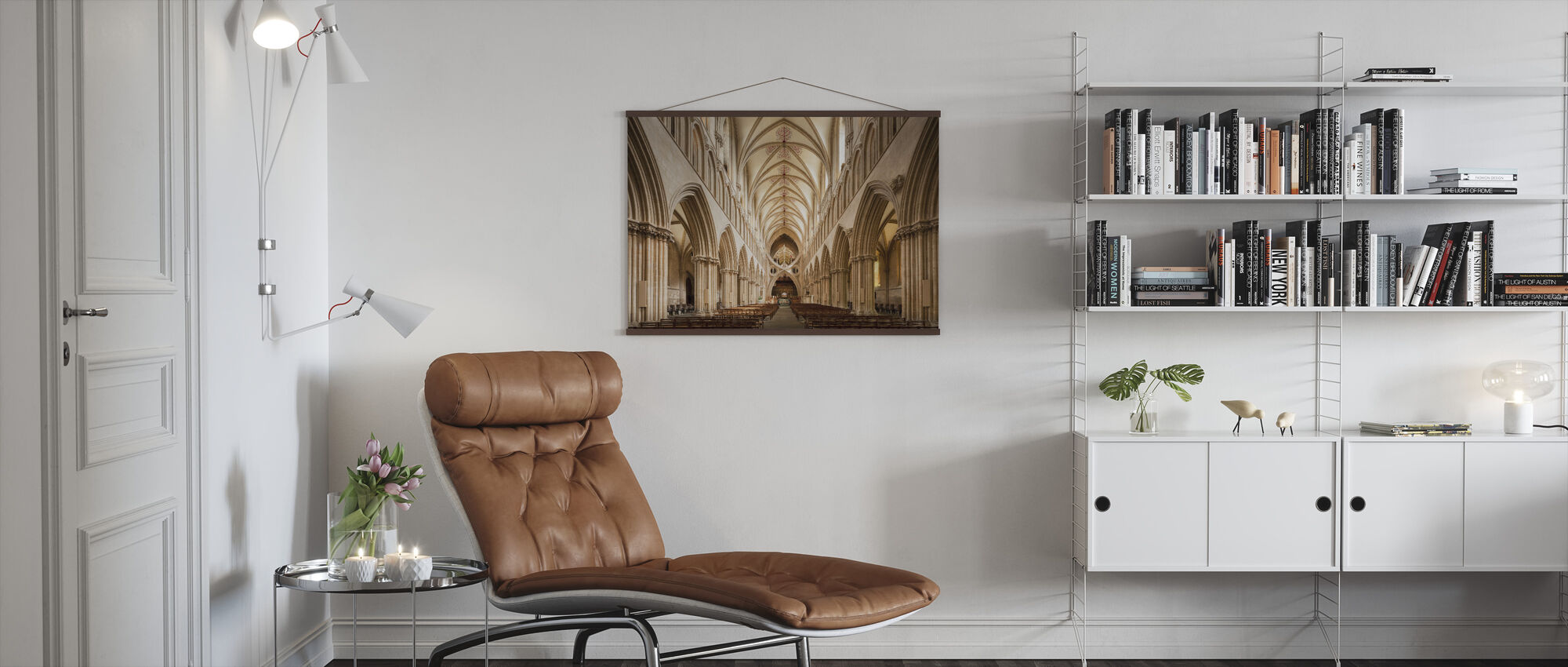 Wells Cathedral - Poster - Living Room