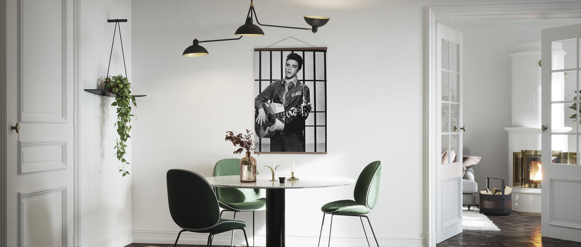 Elvis Presley en Jailhouse Rock - Poster - Keuken