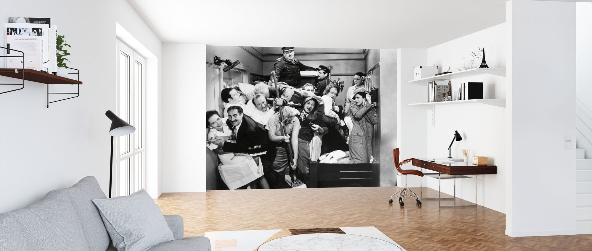 Marx Brothers - Wallpaper - Office