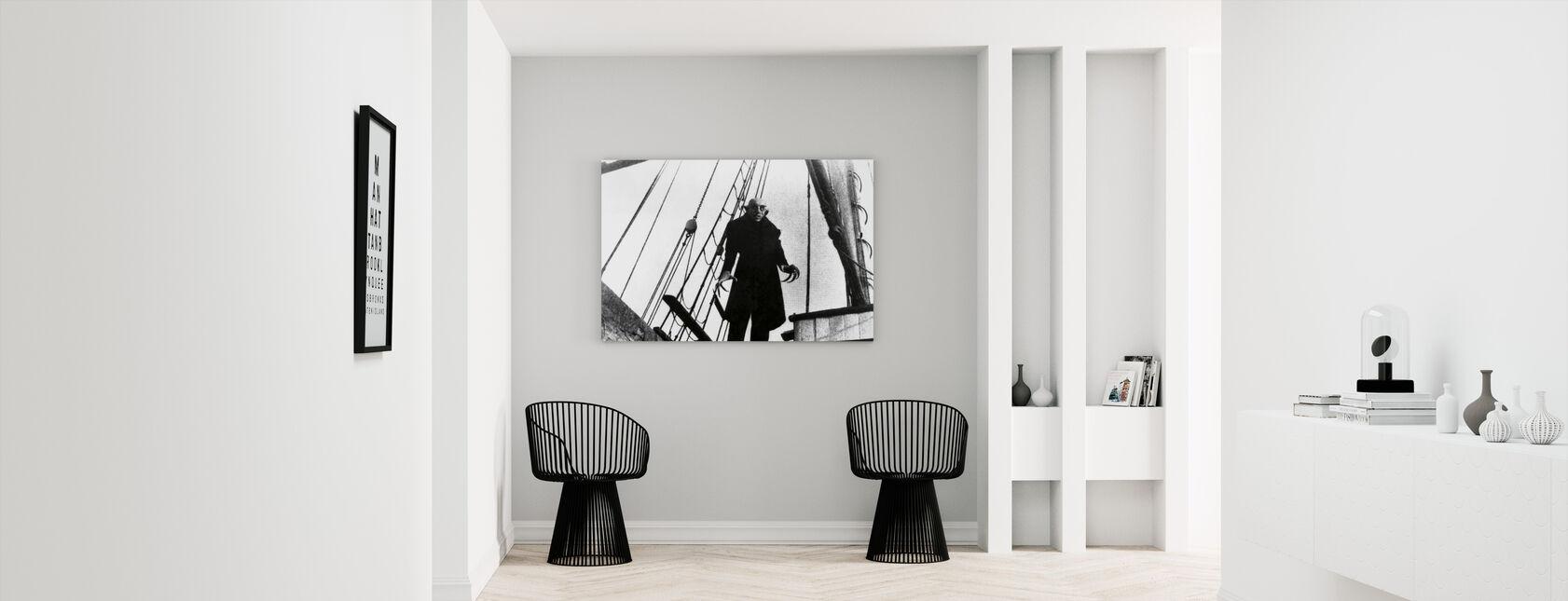 Max Schreck in Nosferatu the Vampire - Canvas print - Hallway