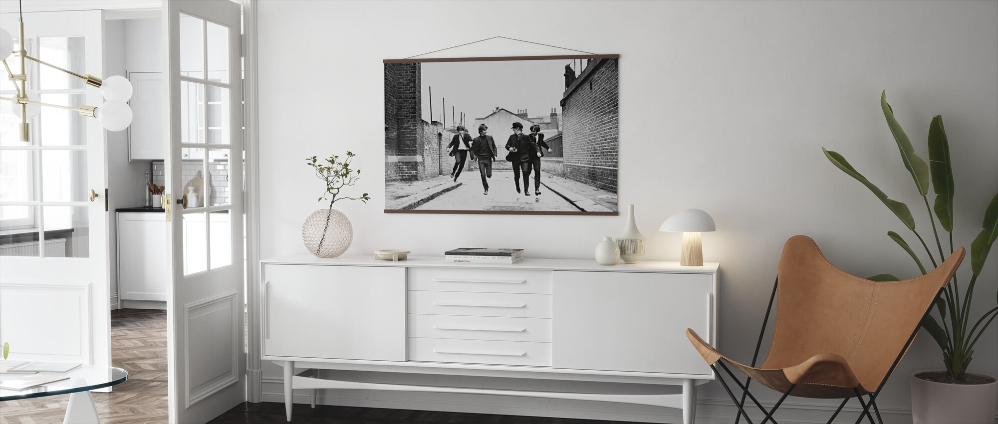 Beatles in a Hard Days Night - Poster - Living Room