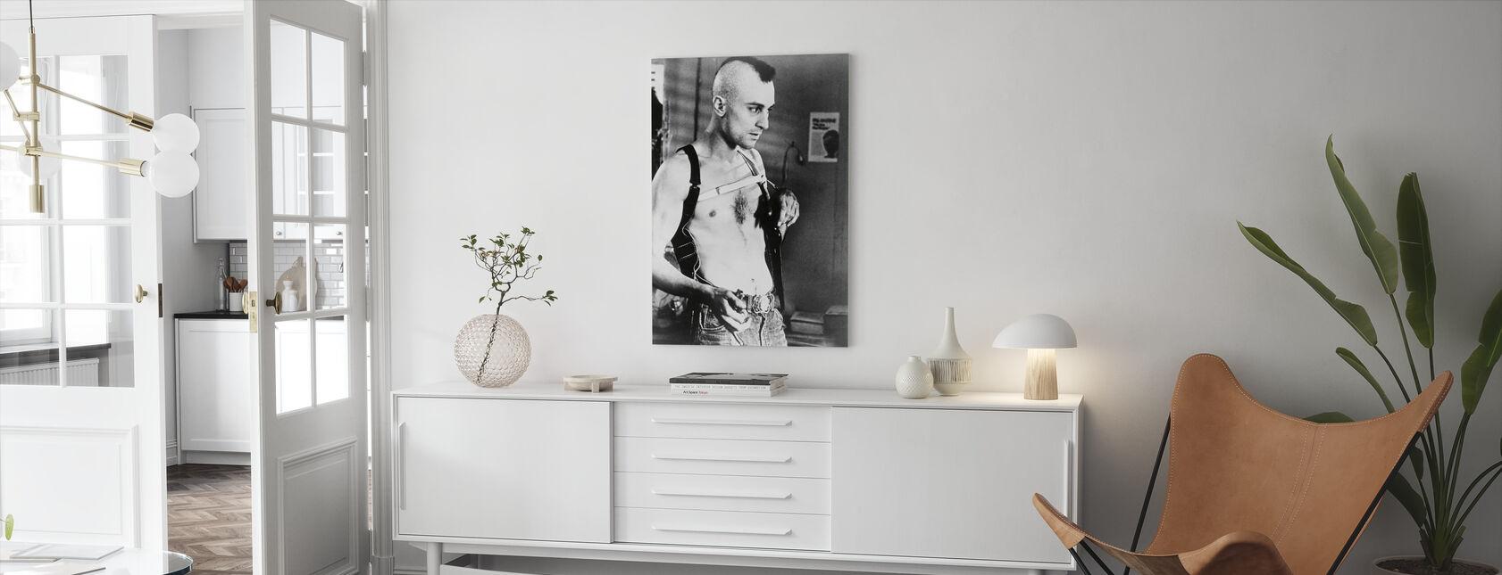 Robert de Niro in Taxi Driver - Canvas print - Living Room