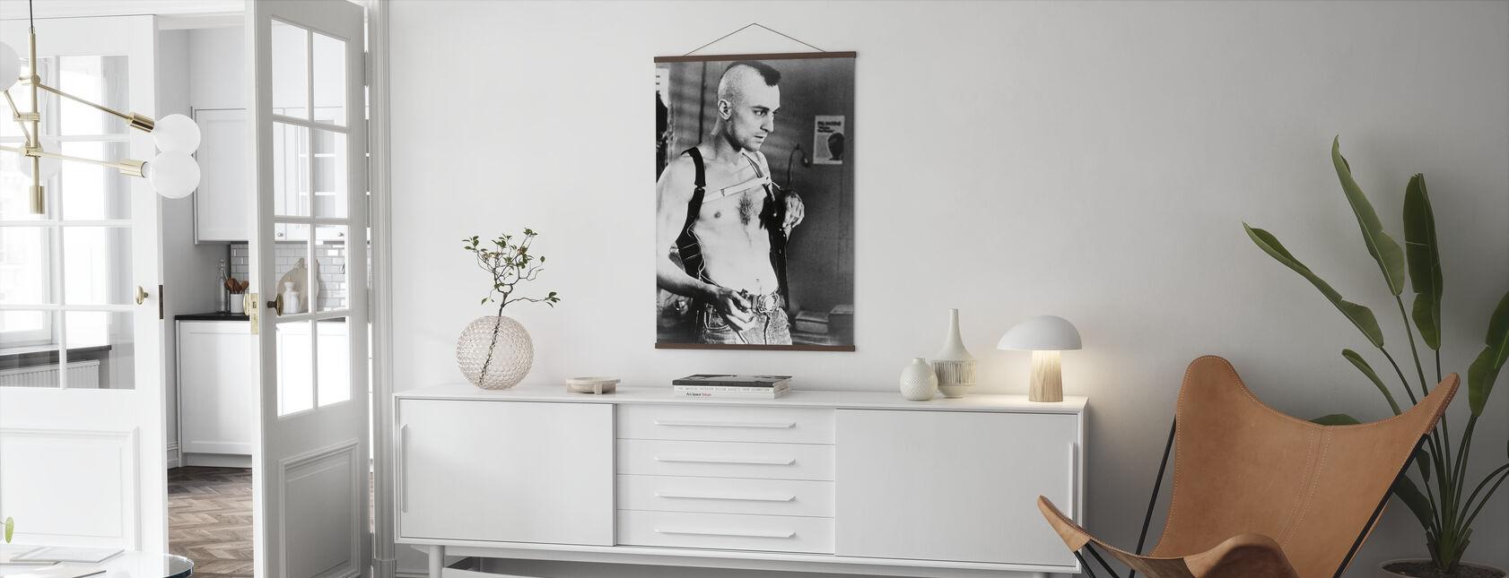 Robert de Niro in Taxi Driver - Poster - Living Room