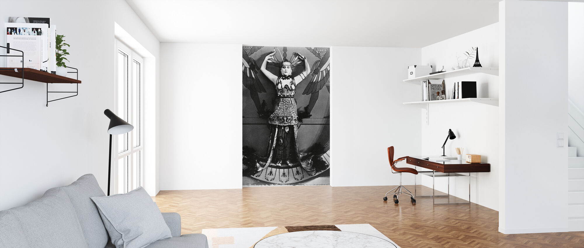 Theda Bara in Cleopatra - Wallpaper - Office