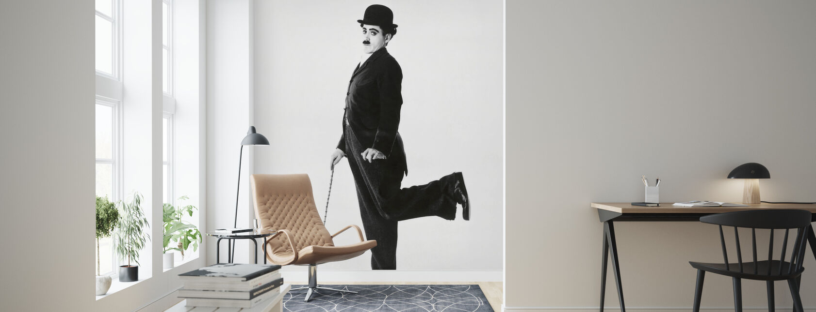 Robert Downey Jr. in Chaplin - Tapete - Wohnzimmer