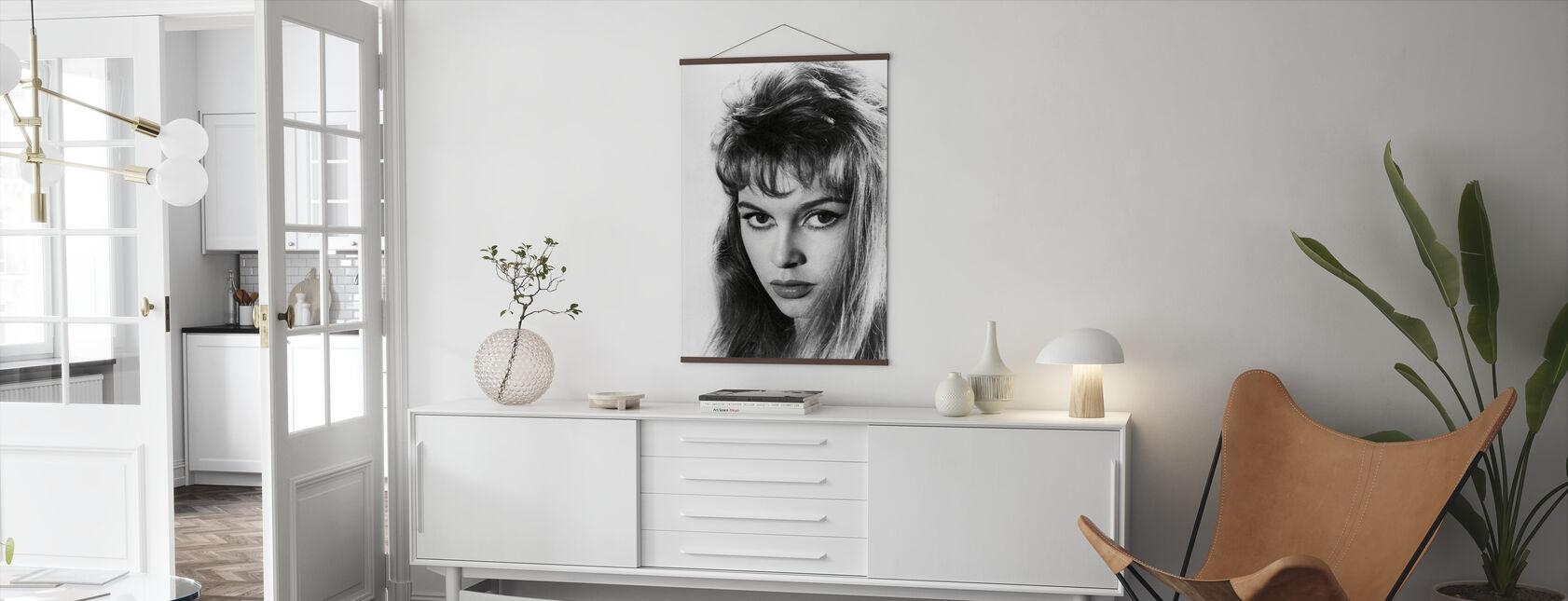 Brigitte Bardot - Poster - Living Room