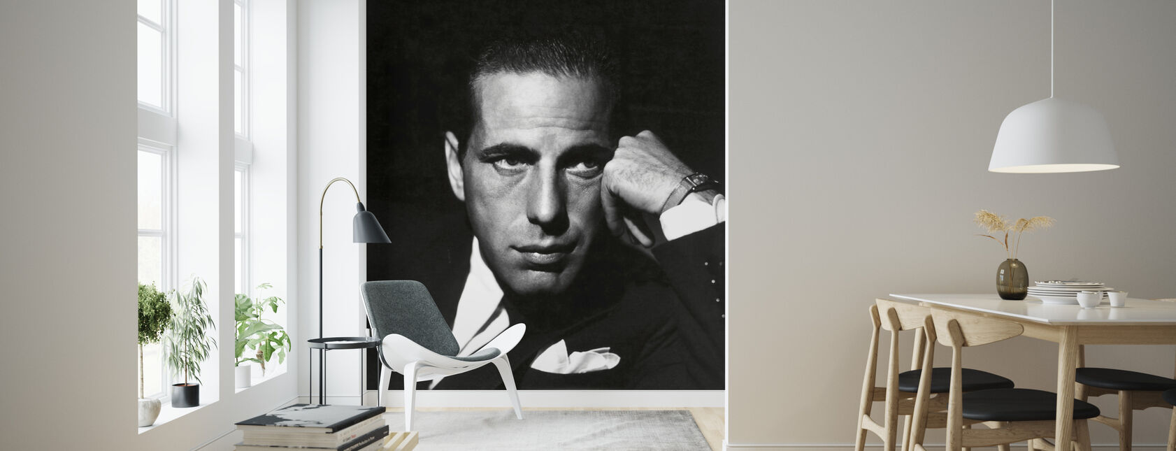 Humphrey Bogart - Wallpaper - Living Room