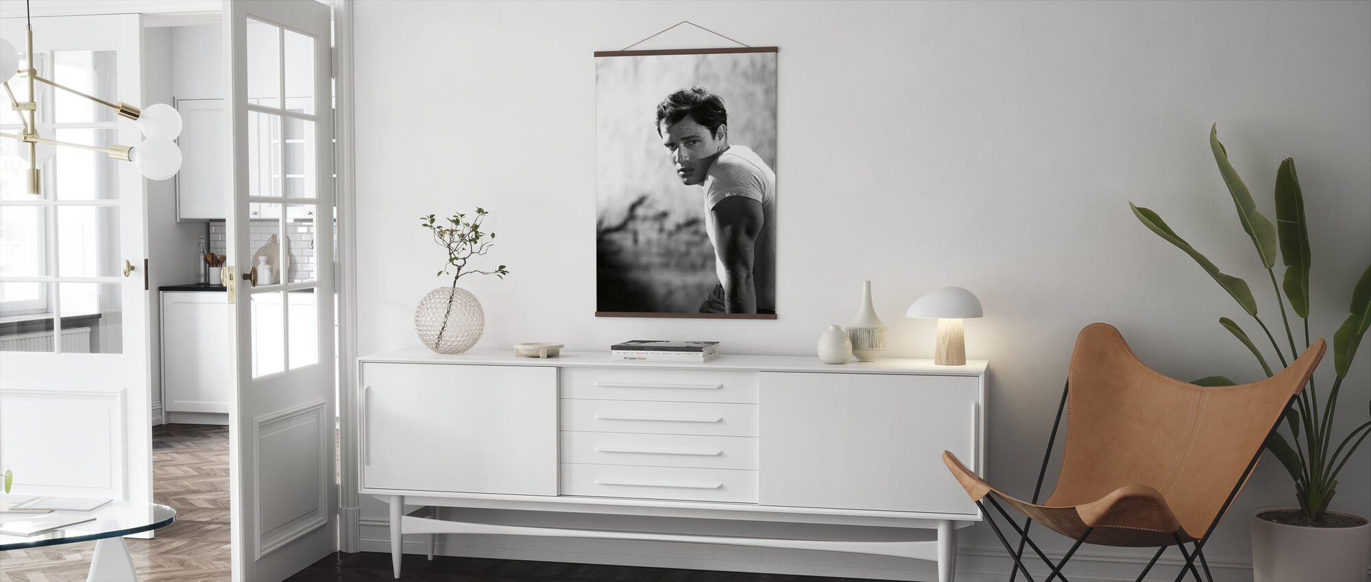 Marlon Brando in a Streetcar Named Desire - Poster - Living Room
