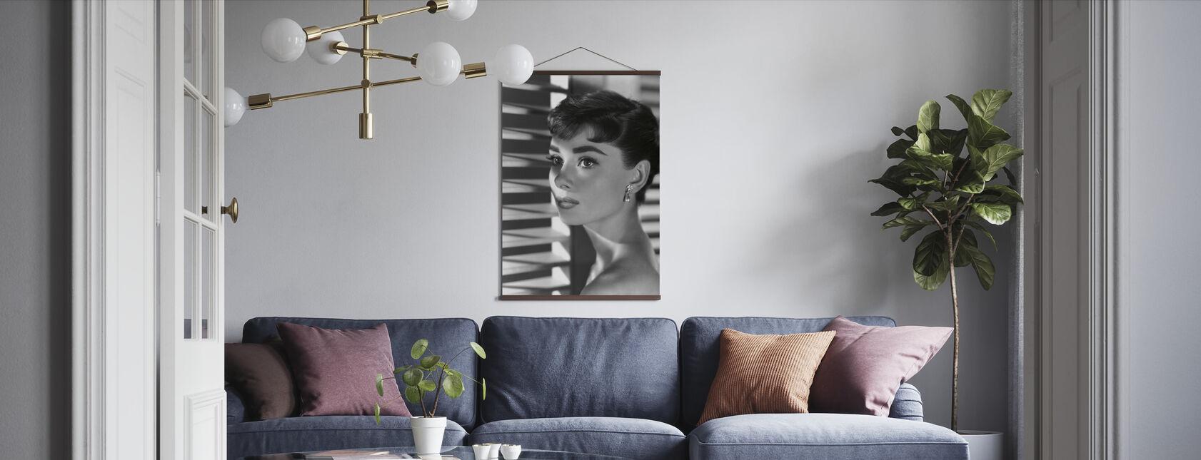 Audrey Hepburn in Sabrina - Poster - Wohnzimmer