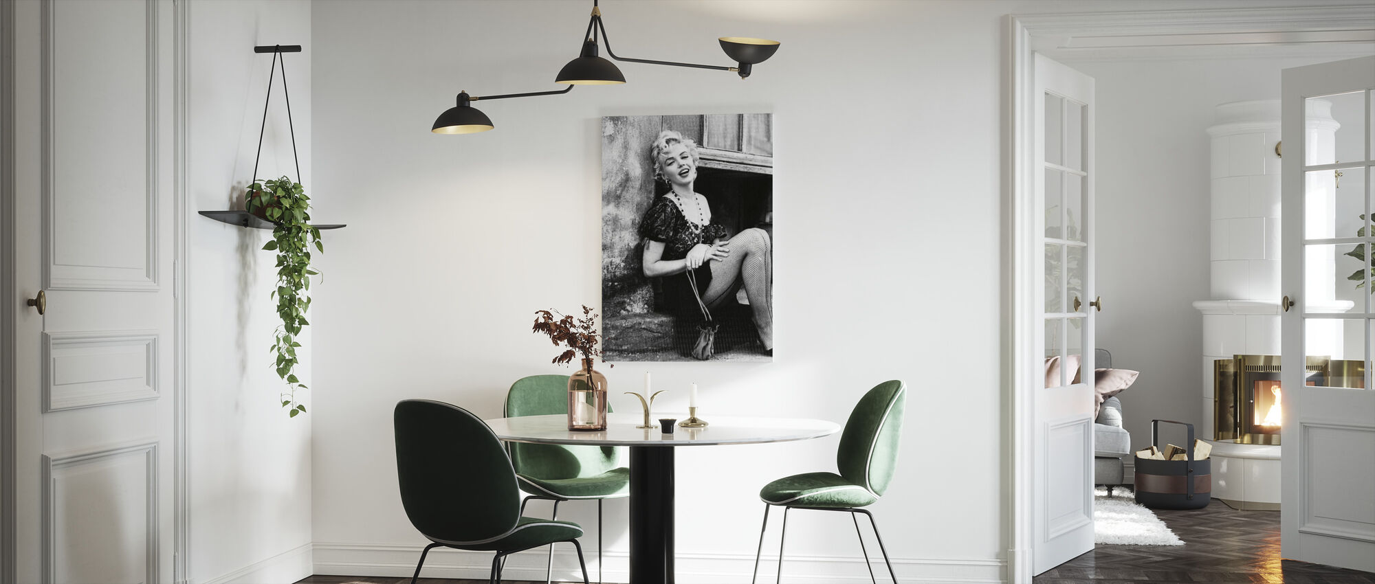 Marilyn Monroe in Bus Stop - Canvas print - Kitchen