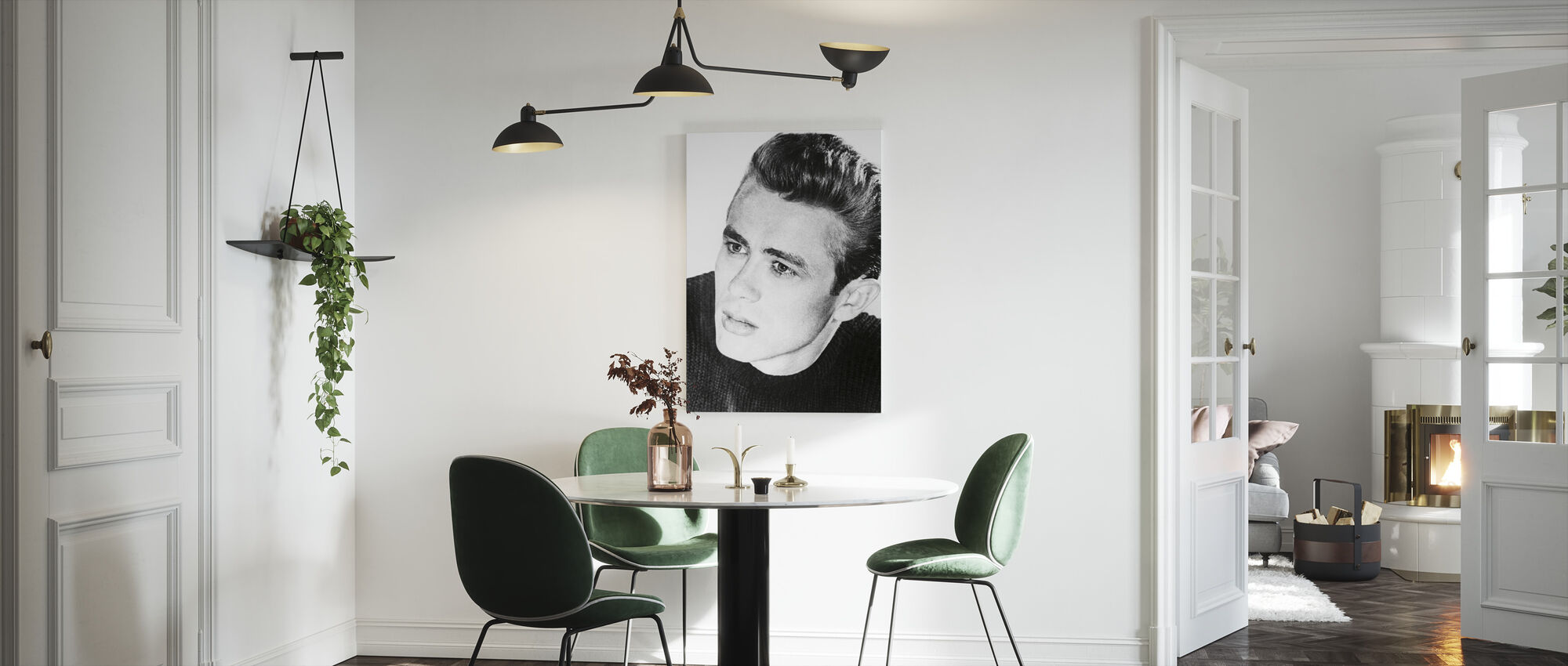 James Dean in Rebel Without a Cause - Canvas print - Kitchen