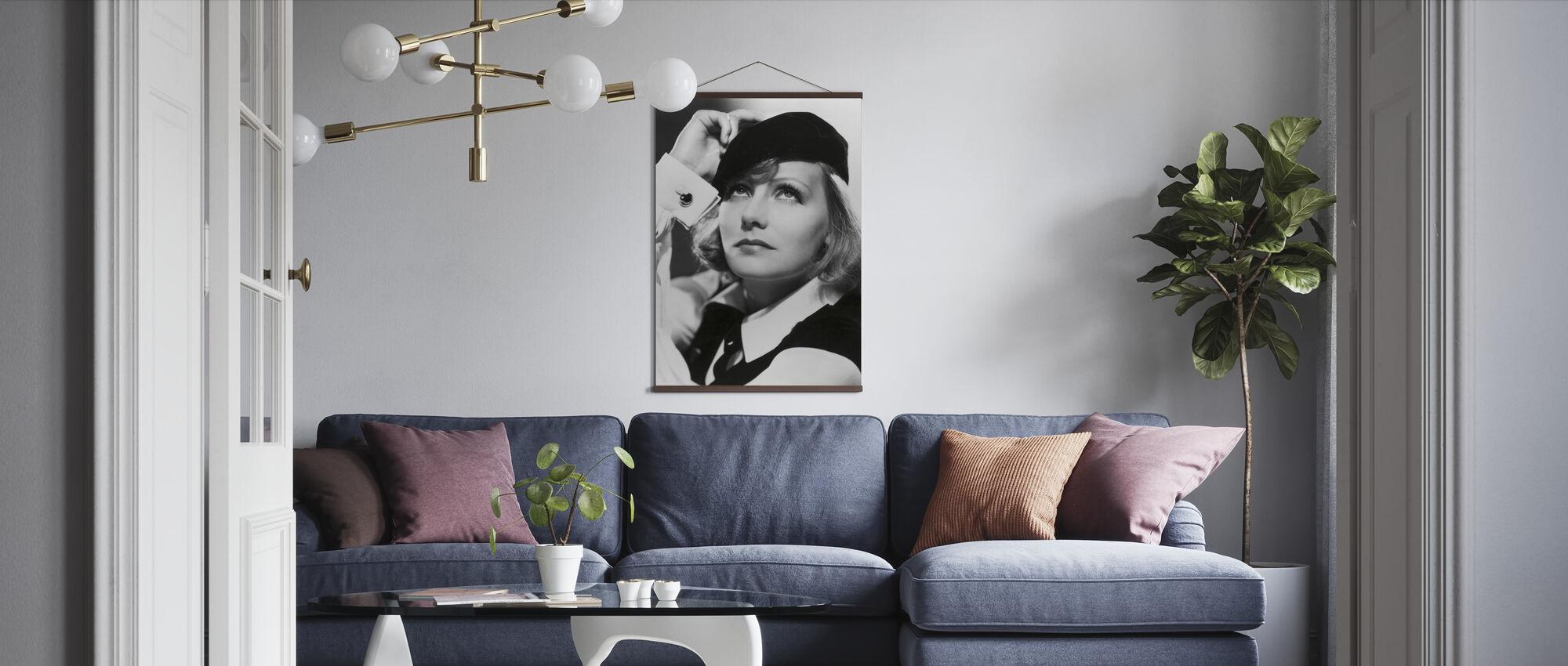 Greta Garbo i som du önskar mig - Poster - Vardagsrum