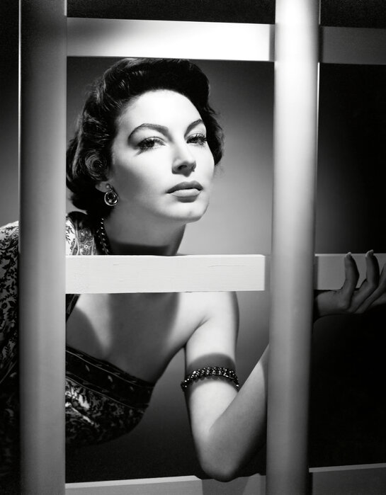 Ava Gardner In The Barefoot Contessa Decorate With A Wall