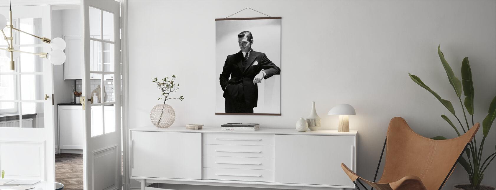 Clark Gable - Póster - Salón
