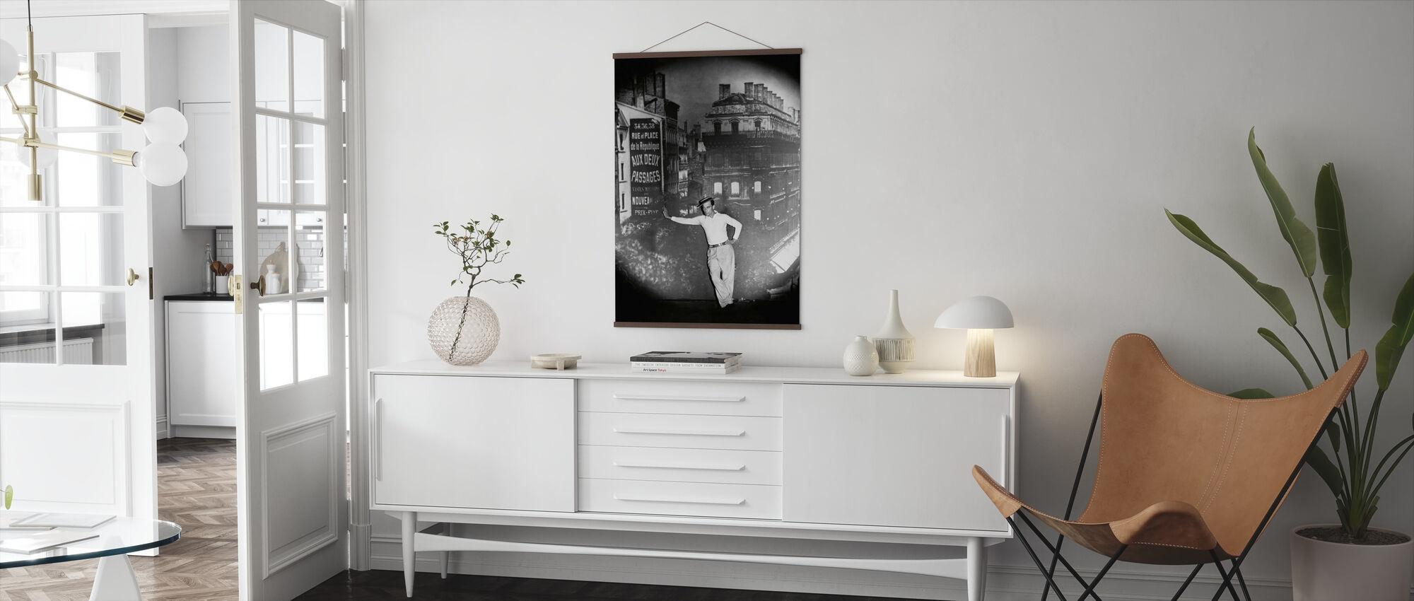 Buster Keaton - Poster - Wohnzimmer