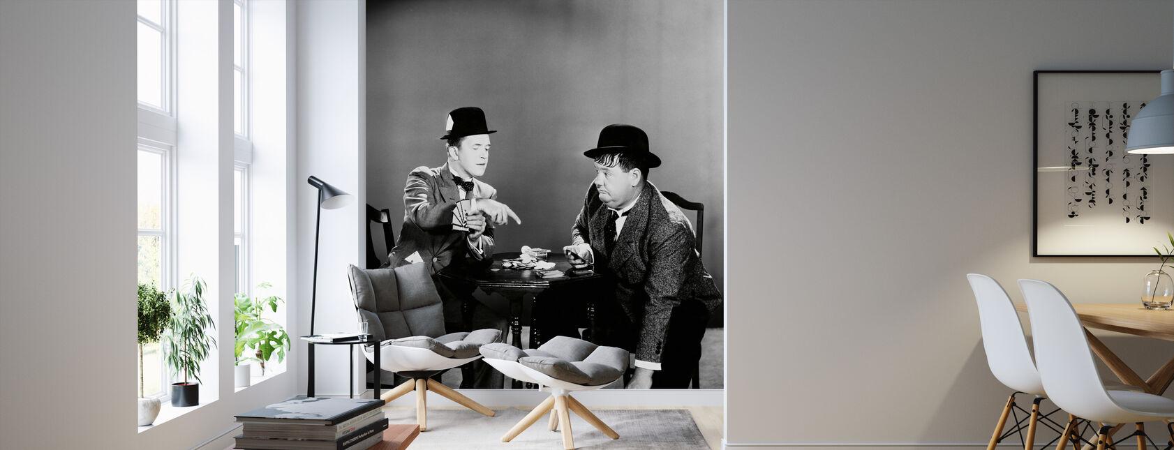 Oliver Hardy ja Stan Laurel - Tapetti - Olohuone