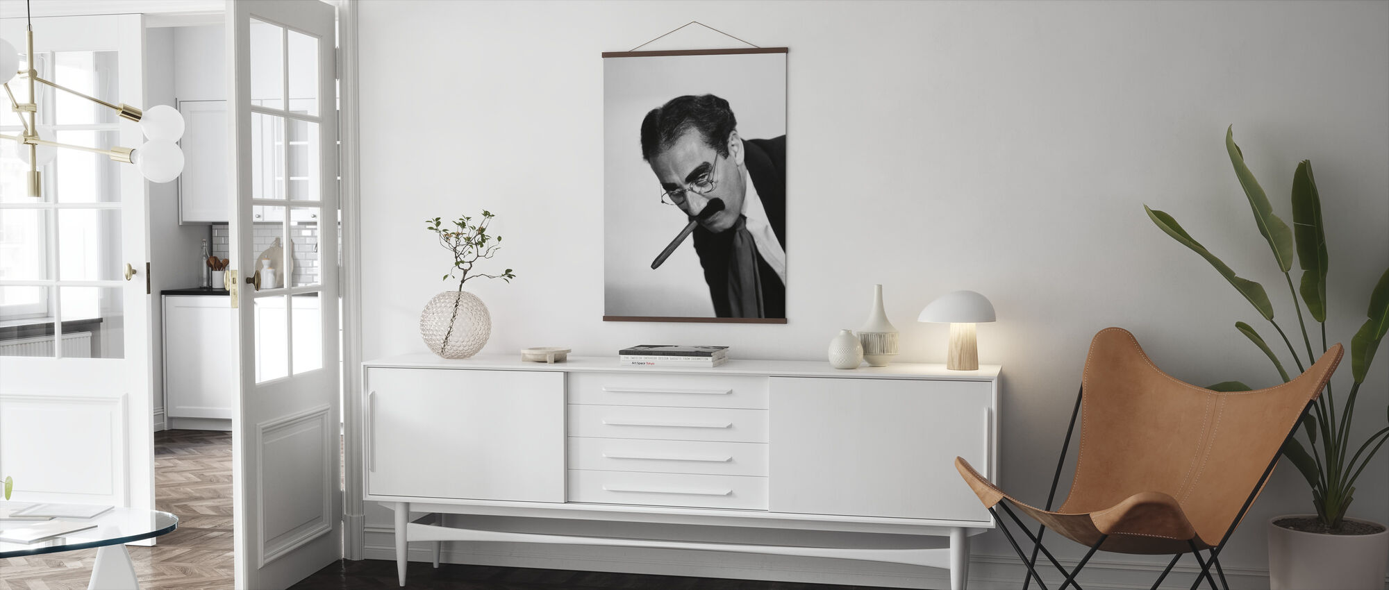 Groucho Marx - Poster - Living Room