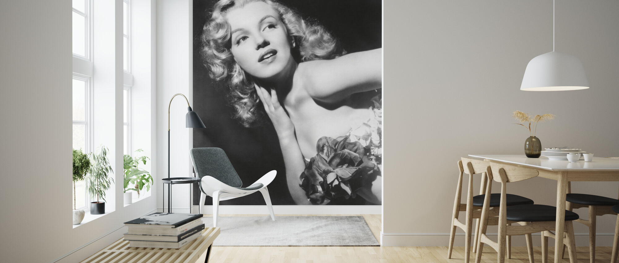 Marilyn Monroe Affordable Wall Mural Photowall