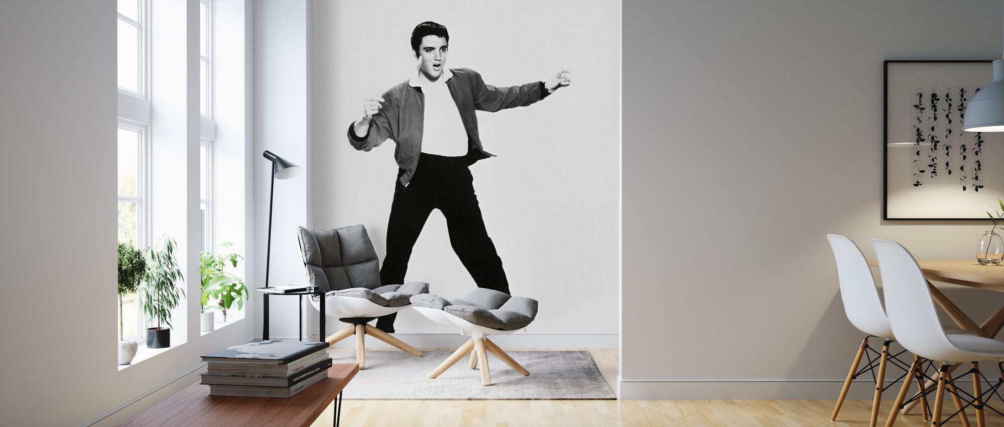 Elvis Presley i fengselshuset Rock - Tapet - Stue