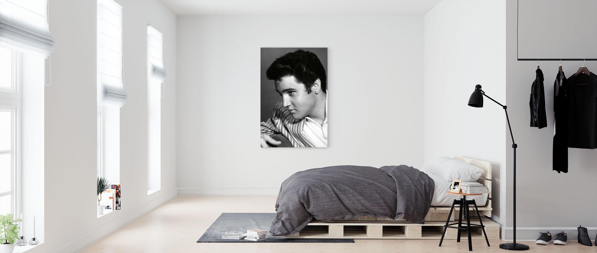 Elvis Presley - Canvas print - Bedroom