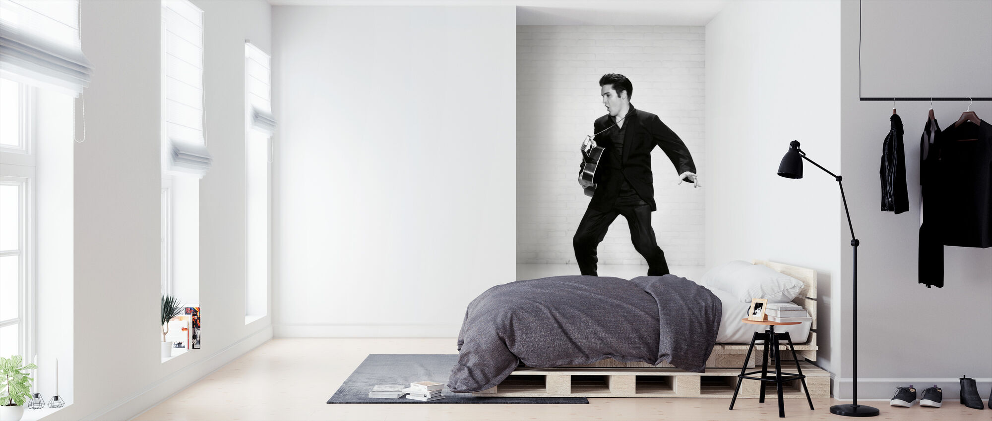 Elvis Presley - Tapet - Soverom