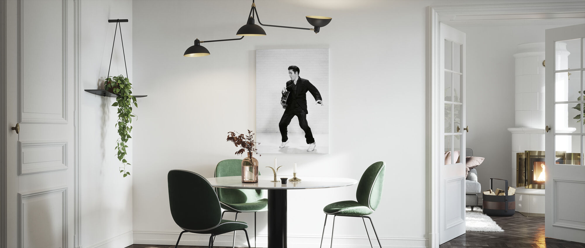 Elvis Presley - Canvas print - Kitchen