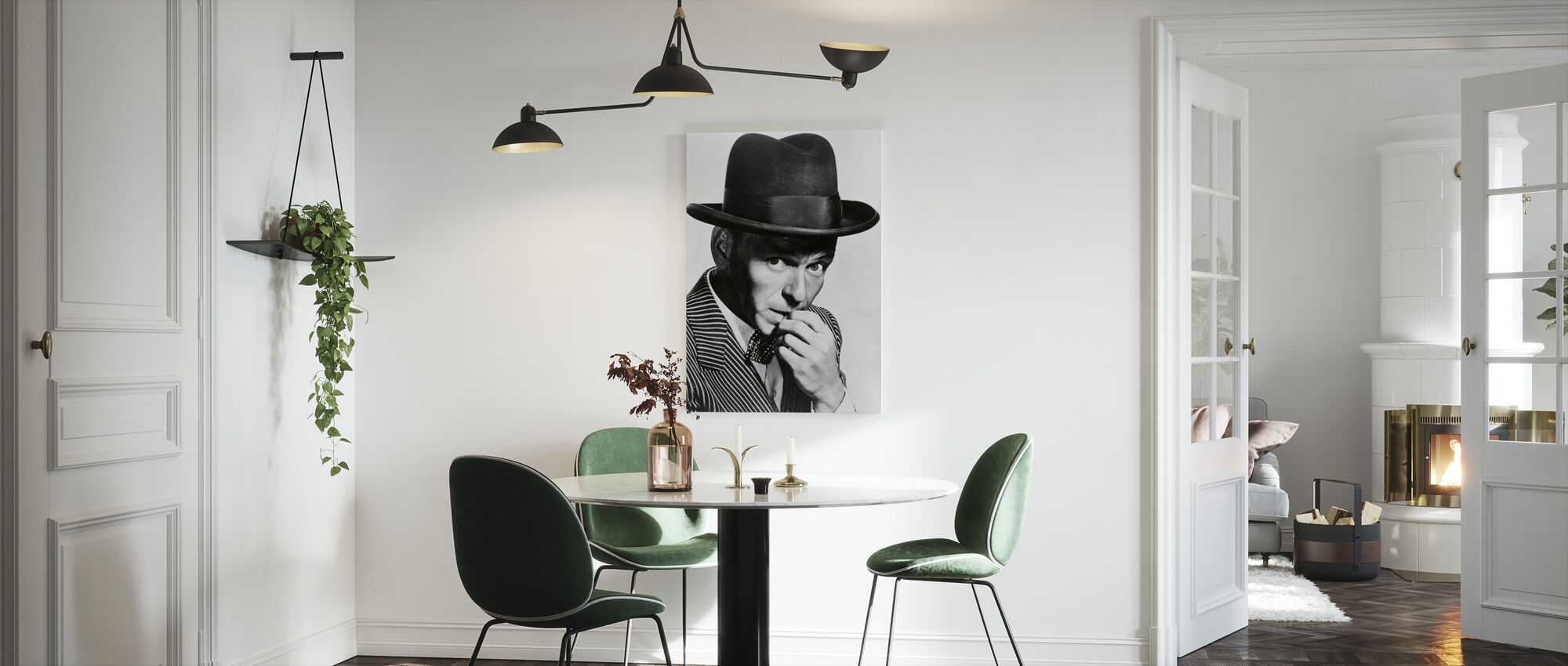Frank Sinatra in Guys and Dolls - Canvas print - Kitchen