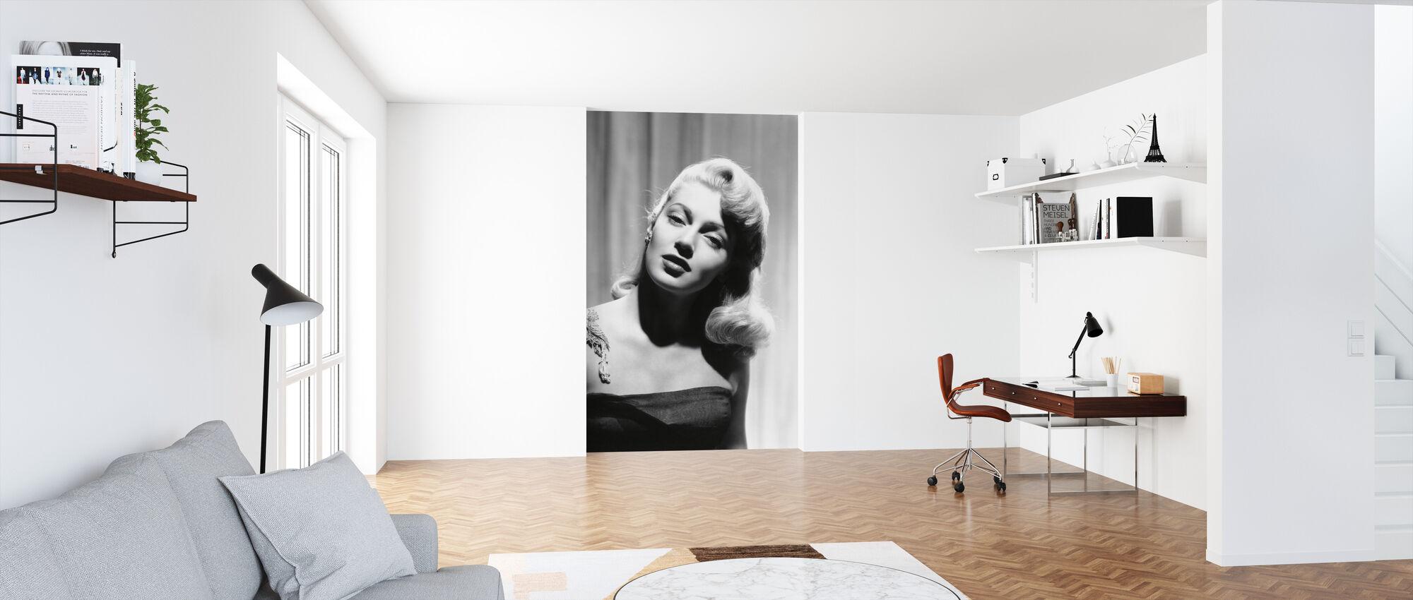 Lana Turner - Tapet - Kontor