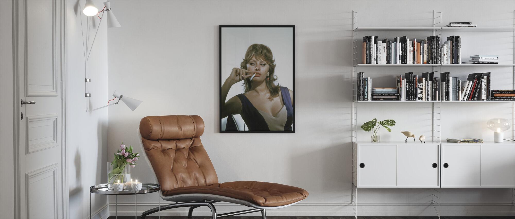 Sophia Loren - Innrammet bilde - Stue