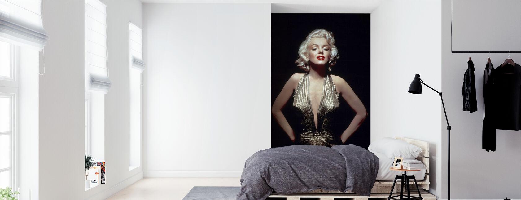 Marilyn Monroe herrat mieluummin blondit - Tapetti - Makuuhuone