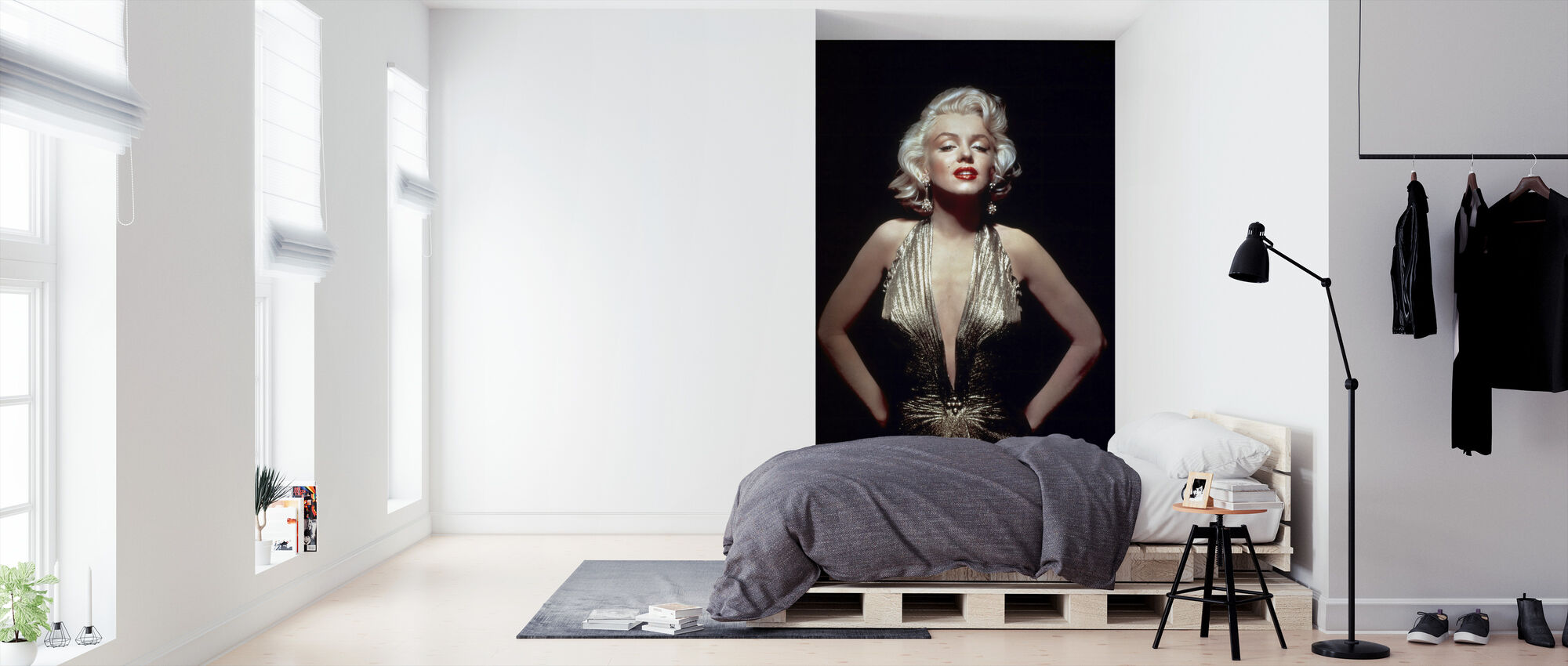 Marilyn Monroe in Gentlemen Prefer Blondes - Wallpaper - Bedroom