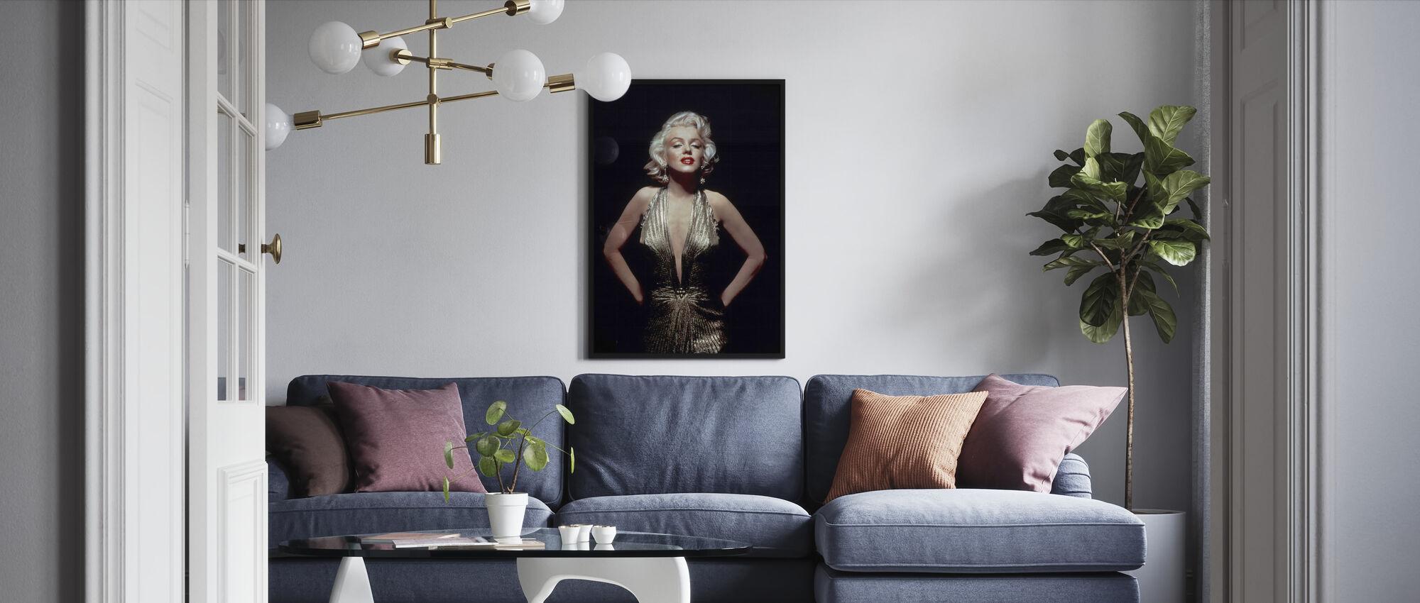 Marilyn Monroe in Gentlemen Prefer Blondes - Framed print - Living Room