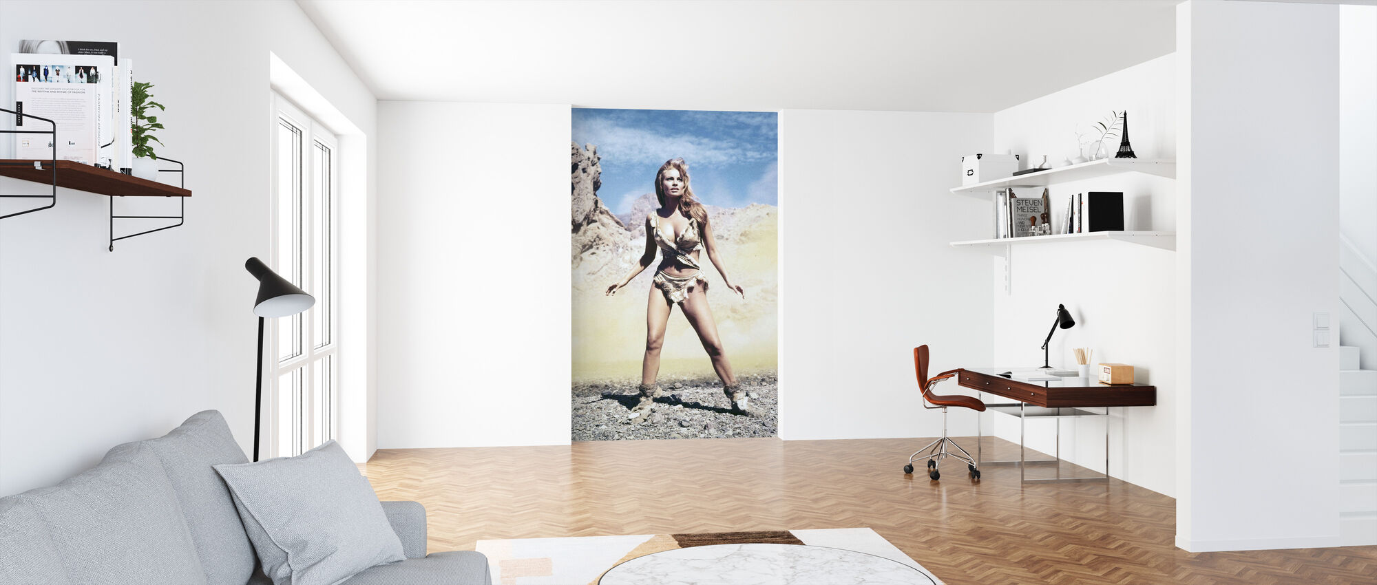 Raquel Welch in One Million Years B. C. - Wallpaper - Office