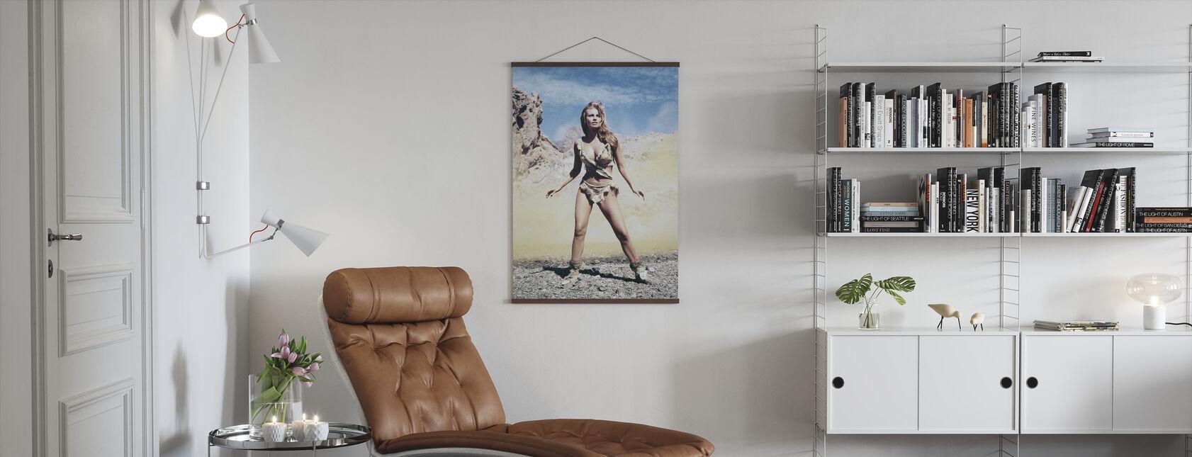 Raquel Welch vuonna Miljoona vuotta B. C. - Juliste - Olohuone