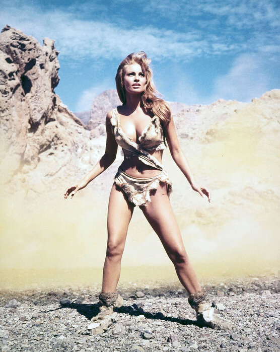 Actress Raquel Welch Poster One Million Years BC