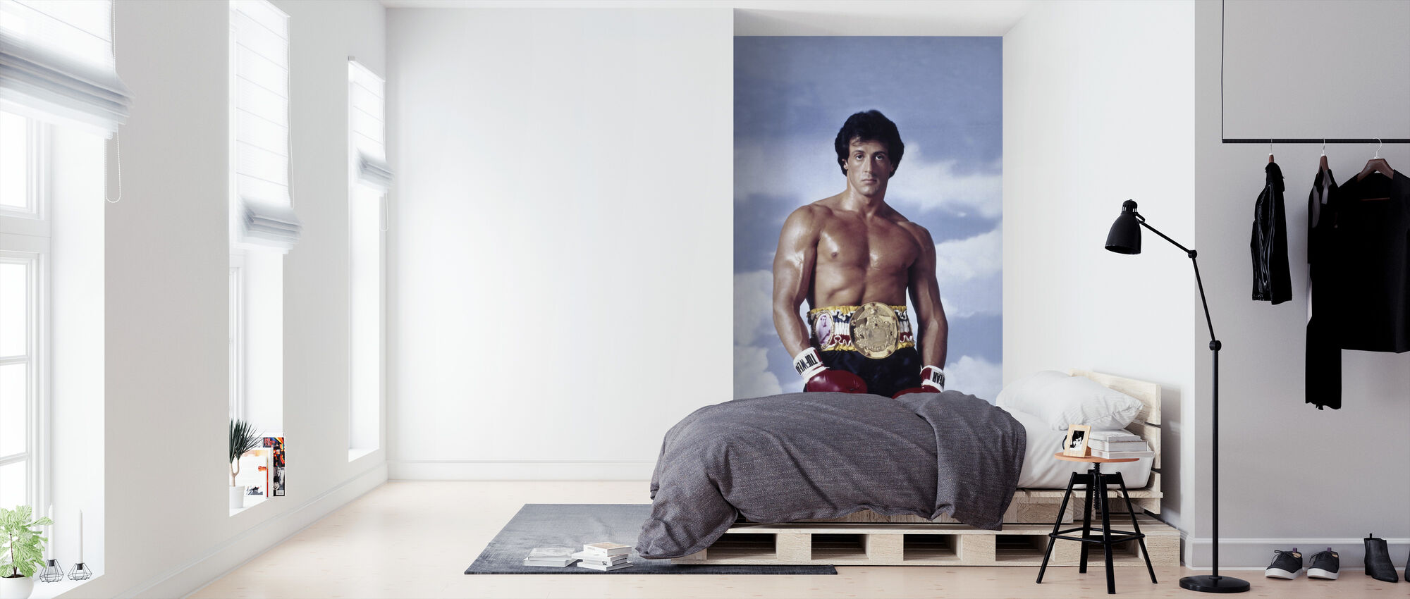 Sylvester Stallone in Rocky III - Wallpaper - Bedroom