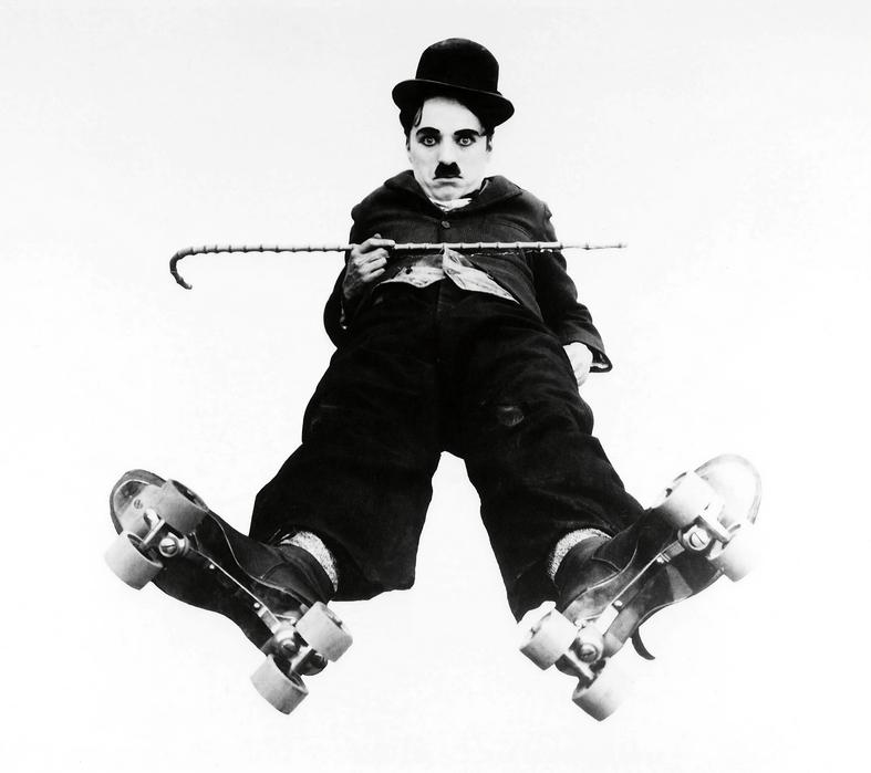 Leinwandbild Charlie Chaplin