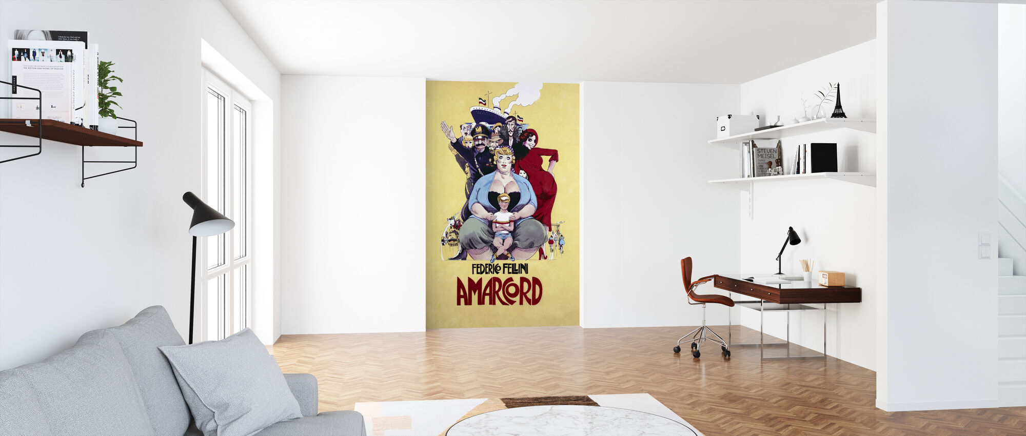 Amarcord - Wallpaper - Office
