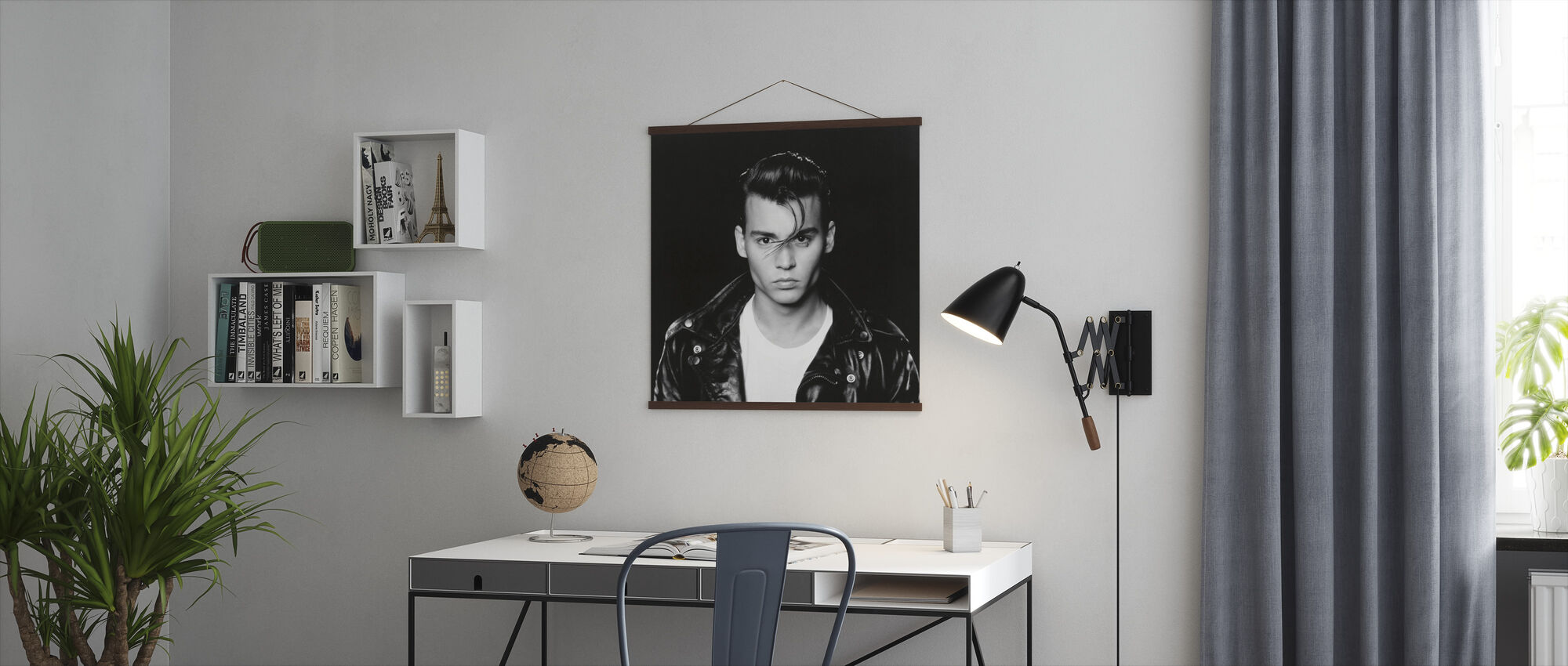 Johnny Depp in Crybaby - Poster - Office