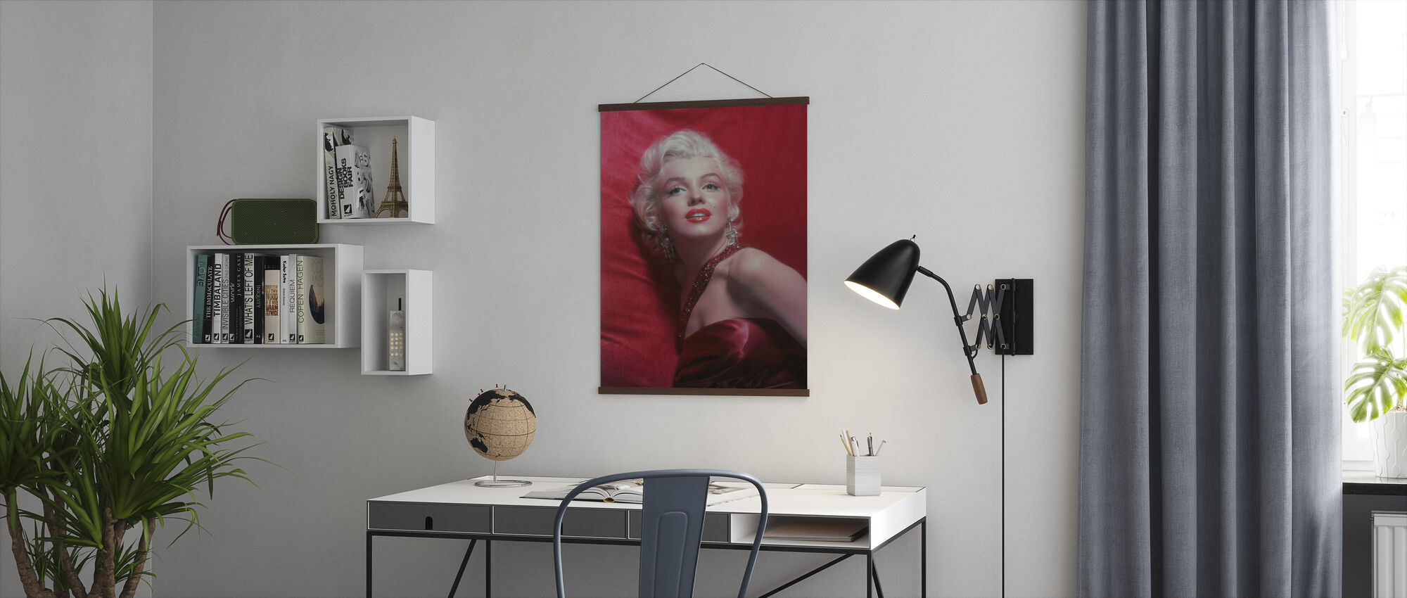Marilyn Monroe in How to Marry a Millionaire - Poster - Office