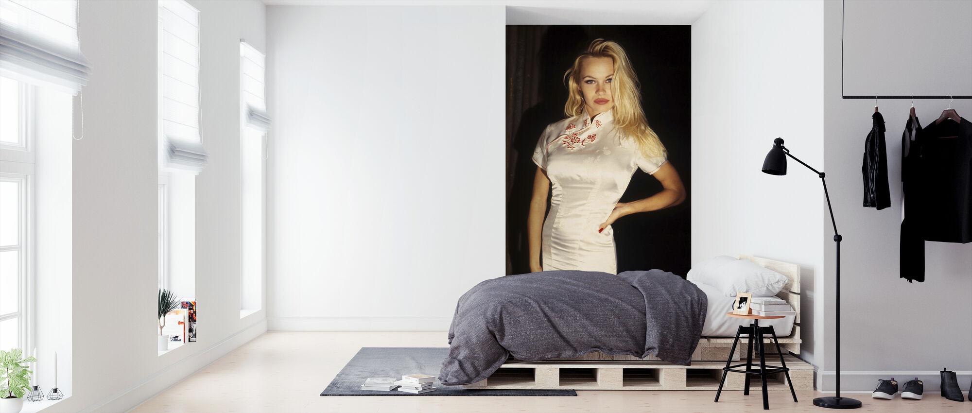 Pamela Anderson i Snapdragon - Tapet - Sovrum
