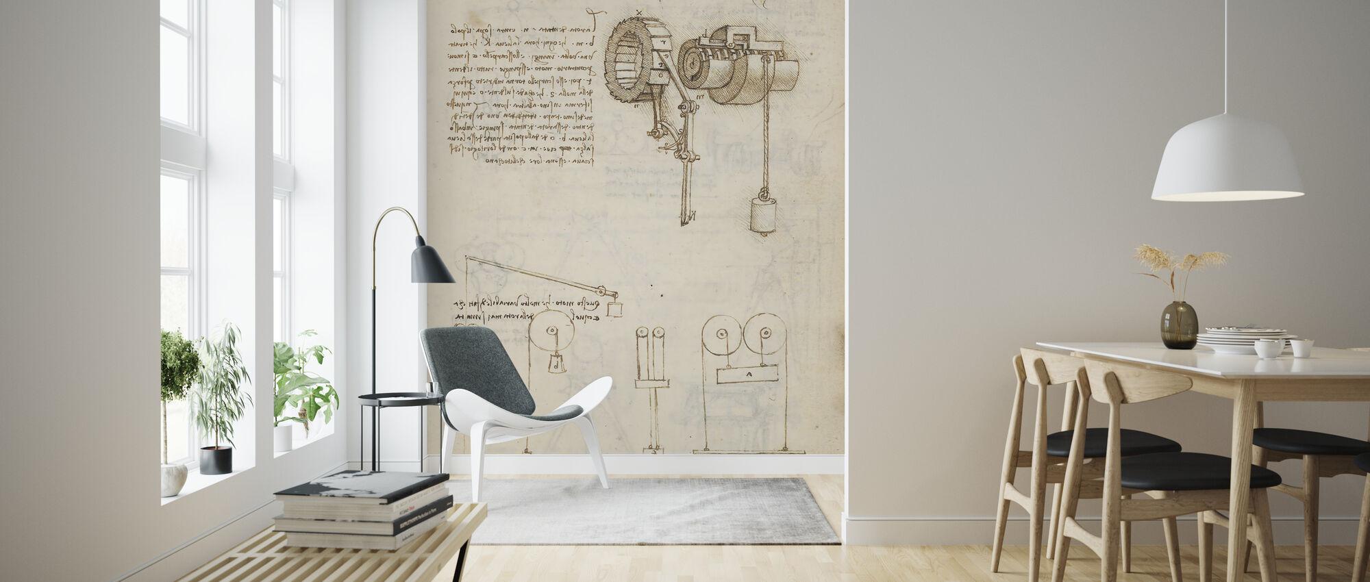 Codex Madrid - Wallpaper - Living Room