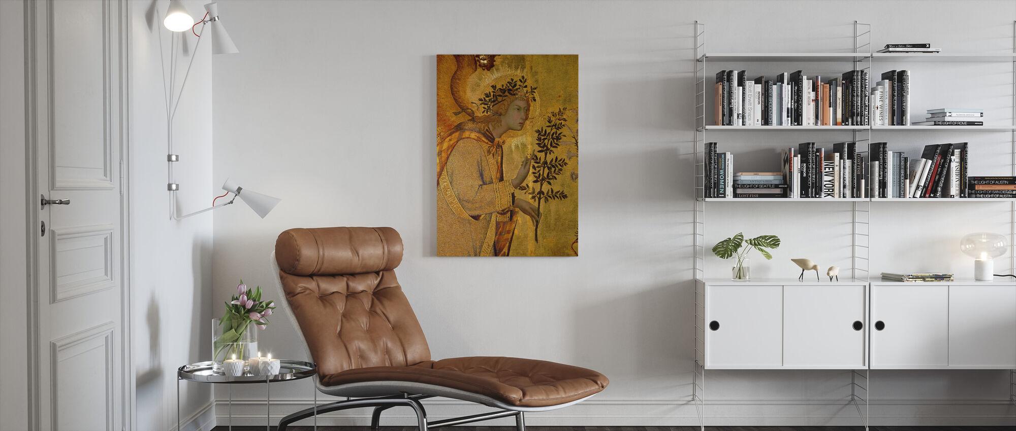 Verkündigung Detail Der Engel der Verkündigung - Leinwandbild - Wohnzimmer