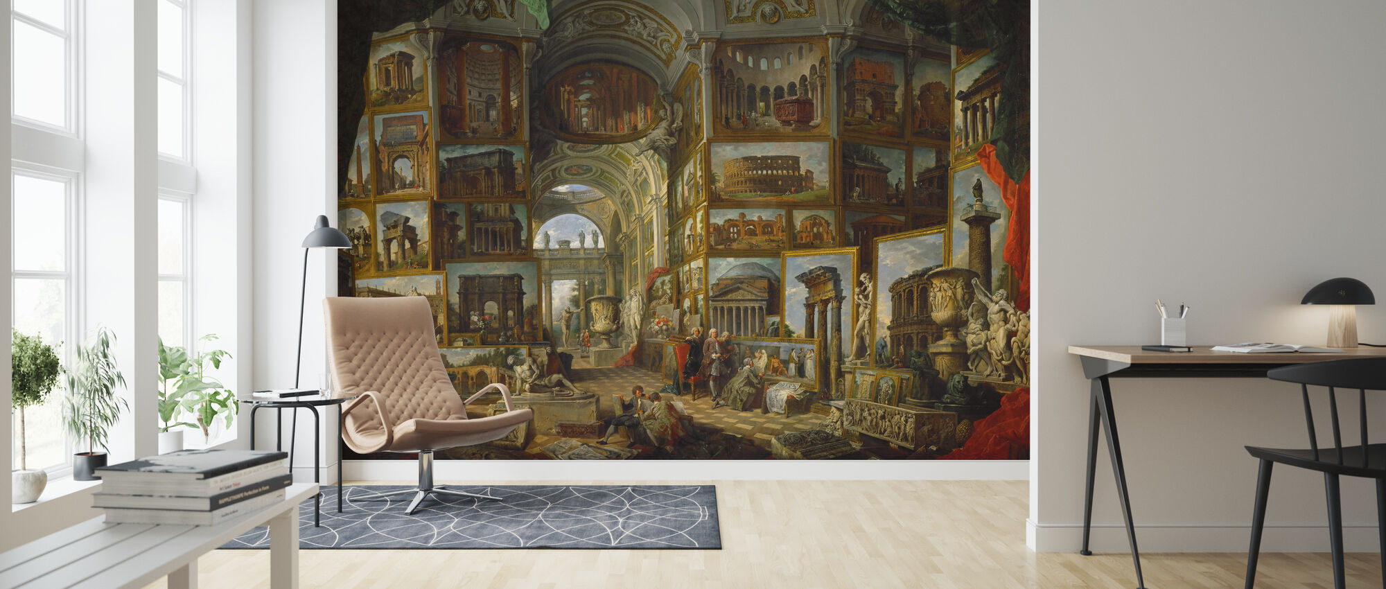 Ancient Rome Giovanni Paolo Panini Popular Wall Mural